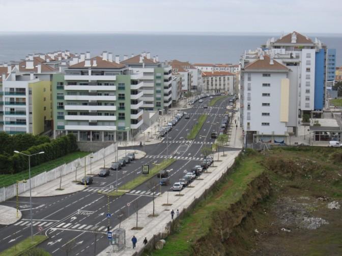 Ponta Delgada - Näkymä hotellin partsilta