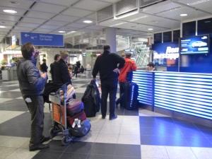 Münchenin lentokentällä
