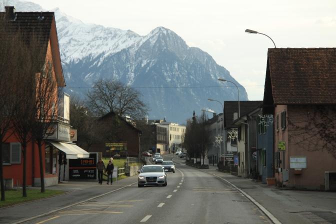 Liechensteinin pääkaupunki Valduz