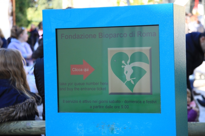 Jonotusnumeroautomaatti a la Rooma