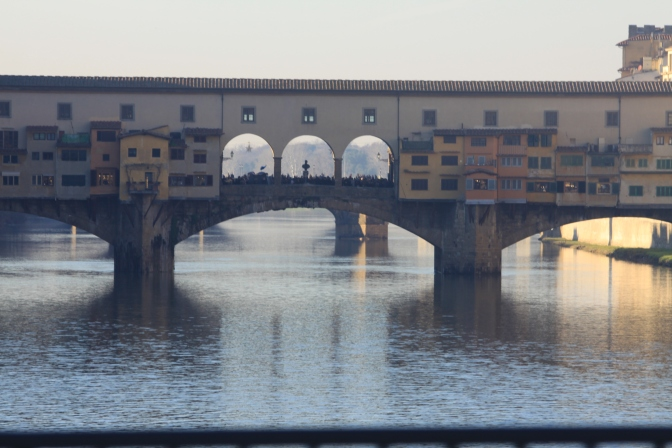 Ponte Vecchio eli Vanha silta, Firenze