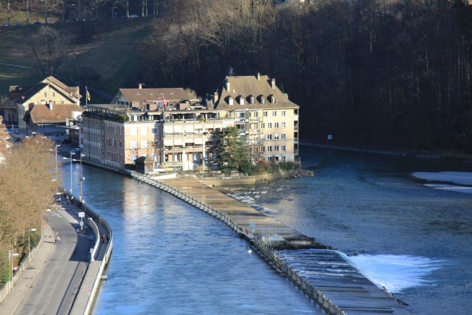 Bern, näkymä sillalta