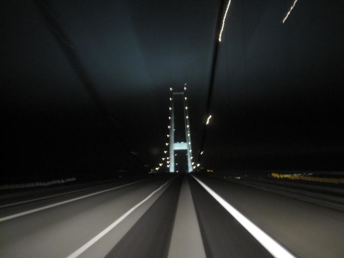 Tanskassa on isoja siltoja.
