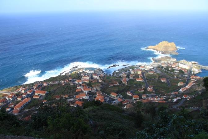Porto Moniz tuolla alhaalla