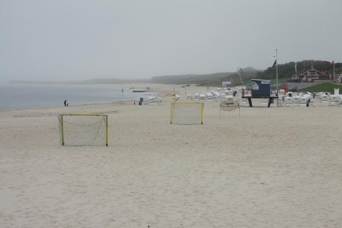 Hörnum. Saaren eteläkärjenkin hiekkaranta on kyllä ihan mukavan näköinen.