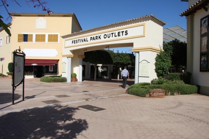 Festival Park Outlets portti