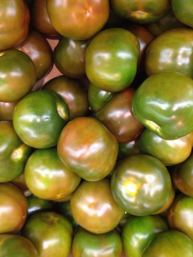 Paikallisia tomaatteja