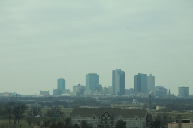 Fort Worth jäi taakse