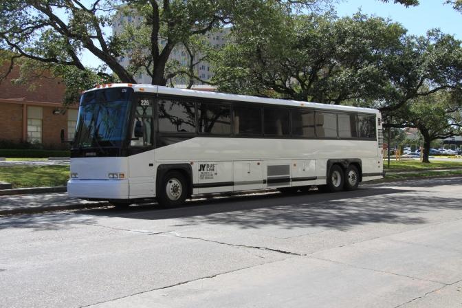 Löydettiin bussi! :)