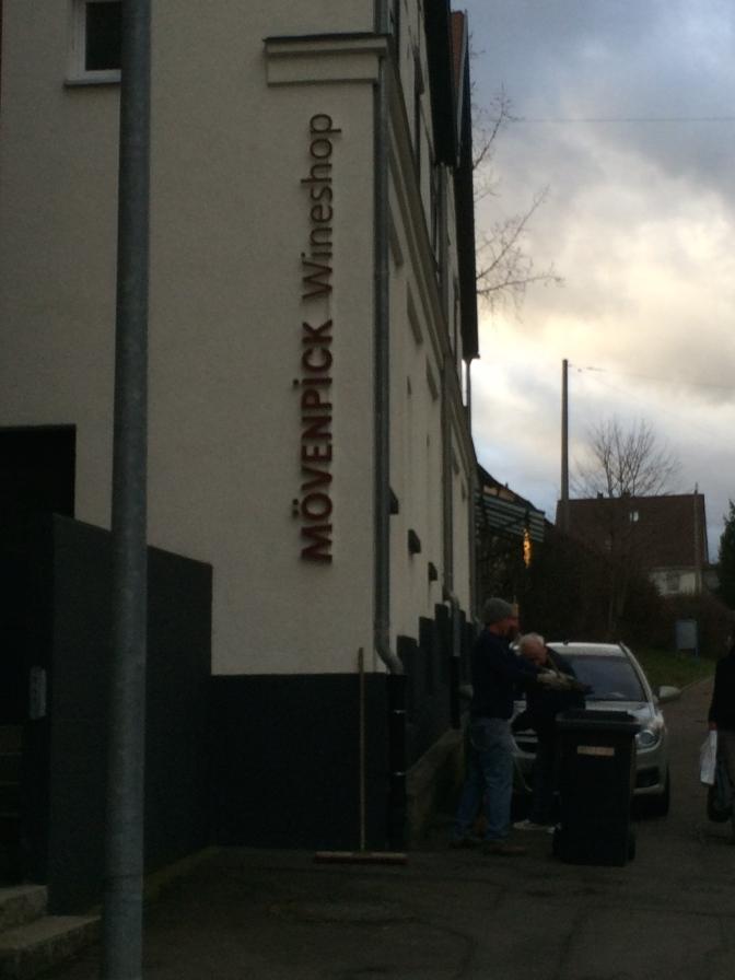 Mövenpickin viinikauppa oli myös uutuus Metzingenissä