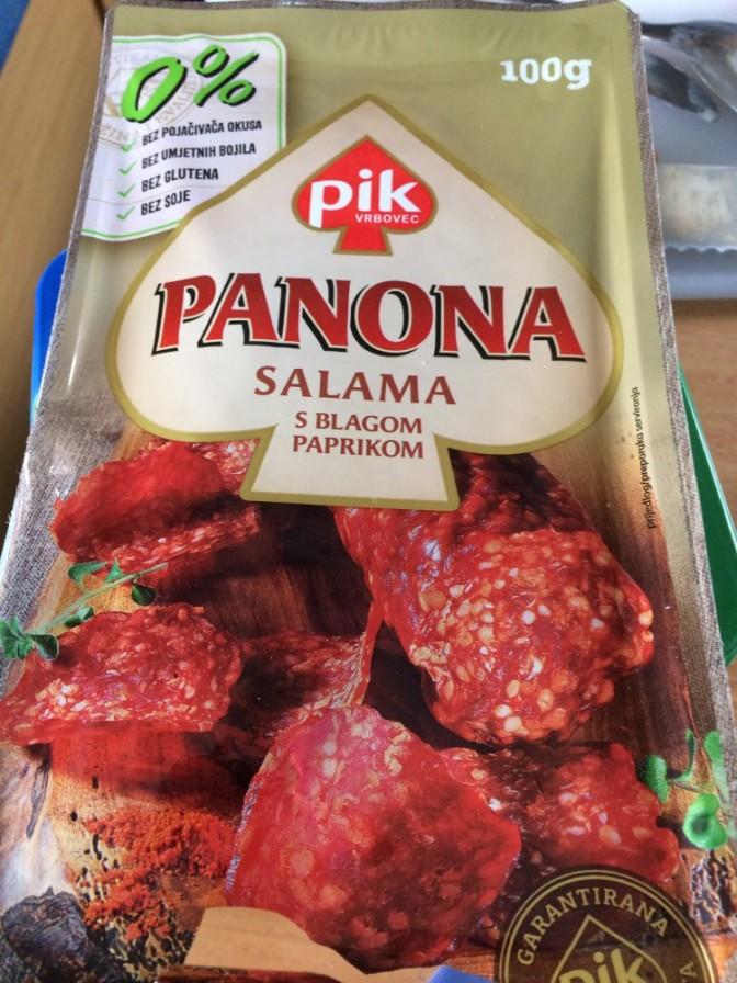 Kroatialaista salamia - ilmeisesti ;)