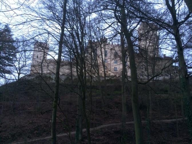 Linnasta oli vaikeaa saada hyvää yleiskuvaa, mutta tästä saa vähä käsitystä.