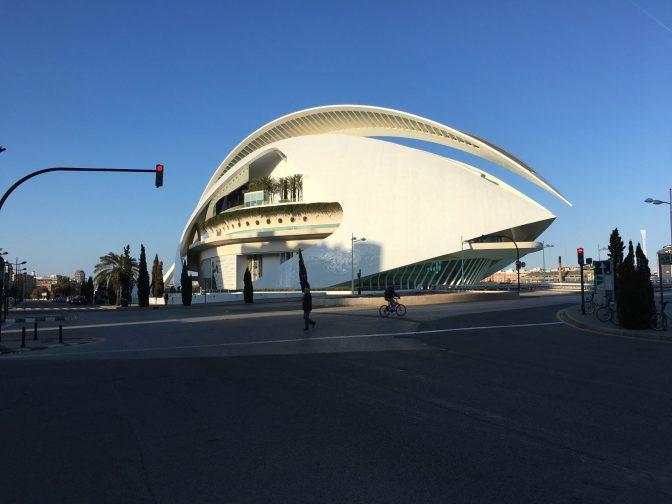 Ciutat de les Arts i de les Ciències eli Valencian taide- ja tiedekeskus