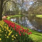 13.4.2017 Keukenhof , Leiden, Den Haag, Rotterdam ja Amsterdam