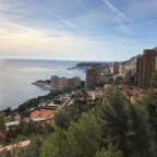 31.12.2018 Ventimigliasta, Italiasta Monacon kautta Six-Fours-les-Plagesiin, Ranskaan eli kauniita maisemia ja lämpöä